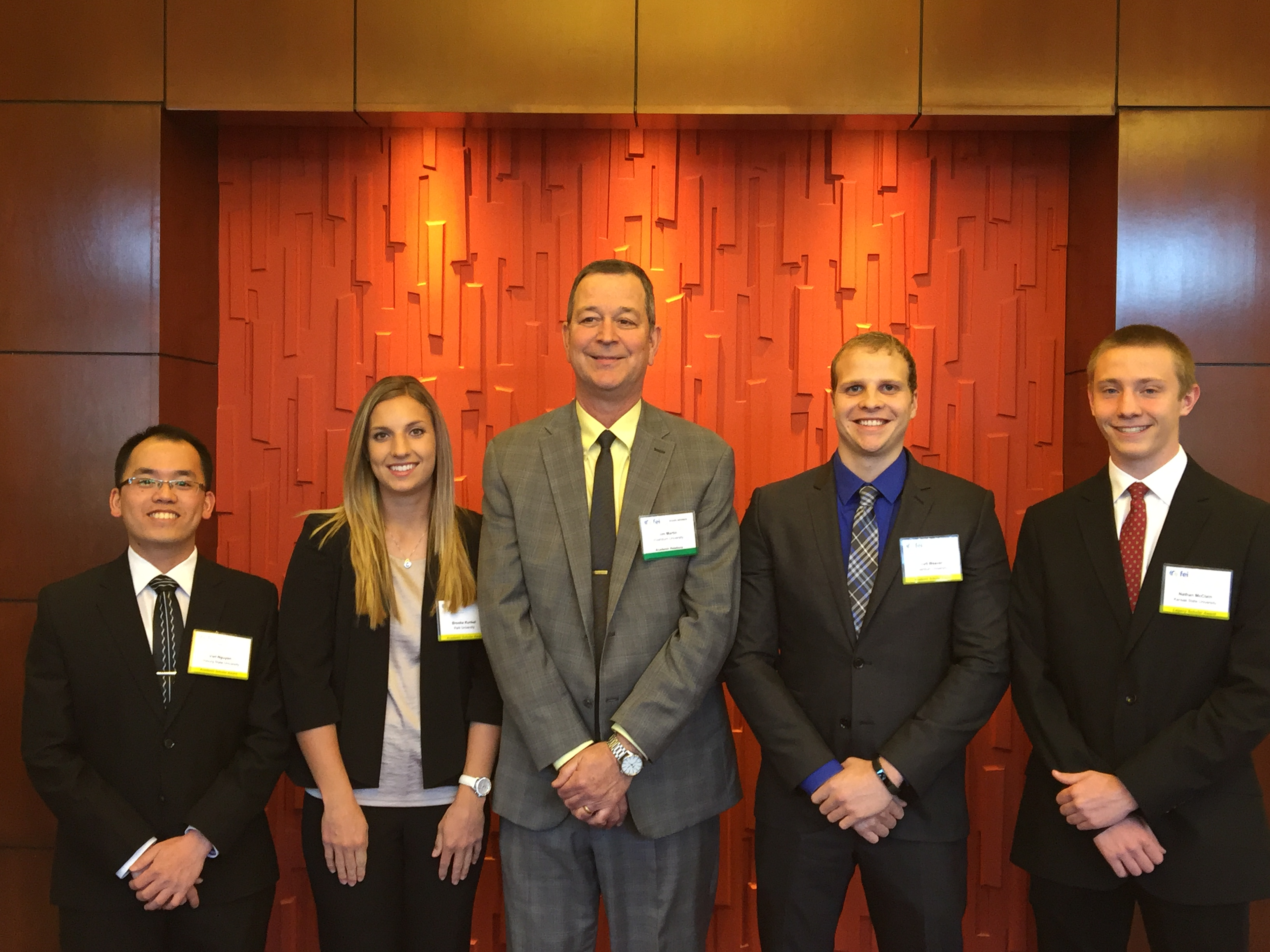FEI Honors Top Students